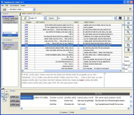Advanced Corpus Search Tool EXAKT